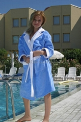 Luxury Velour Bathrobes for Women