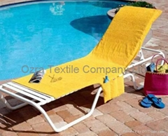 Lounge chair towels
