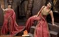 KANCHANA - Twinkling Magenta SHABNAM JAQUARDDeginer Sarees - SR30 1