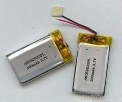 供应3D眼镜专用聚合物电池