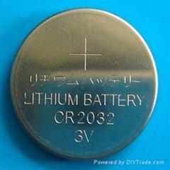 供应CR2032钮扣电池