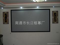 壁挂投影幕