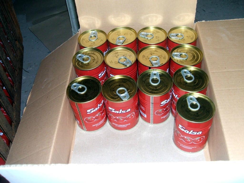 18-32Brix tomato paste packed in 400g tin can 1