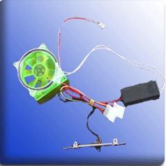 CCFL Fan in green