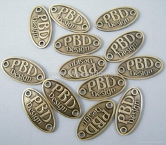 metal name plate ,name logo,metal label