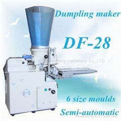 High technology semi-automatic dumpling machine
