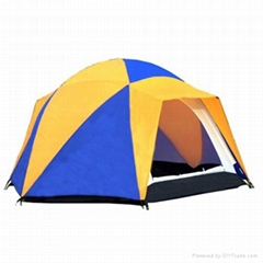 Double Layer Camping Tent for 5 Persons