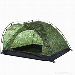 Single Layer Camping Tent for 3 Persons