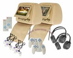 7 Inch Headerst DVD Player