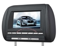 7 Inch Headerst DVD Player with Game USB SD IR