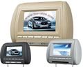 7 Inch Headerst DVD Player with Game USB SD IR 2