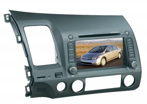 HONDA CIVIC CAR DVD NAVIGATION SYSTEM with Digital TV 1