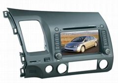 HONDA CIVIC CAR DVD NAVIGATION SYSTEM with Digital TV
