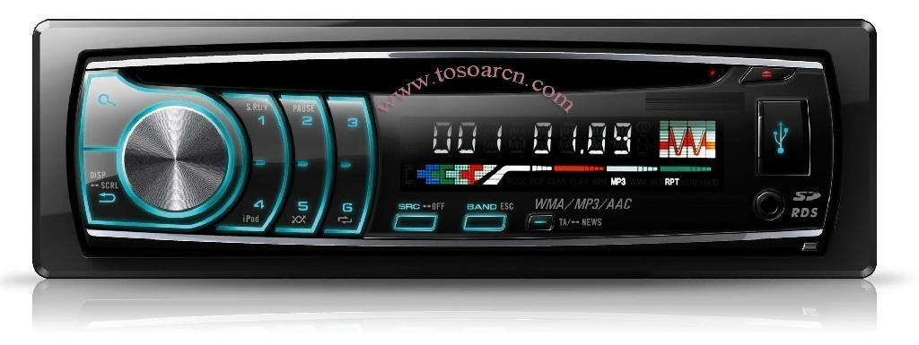 1DIN car DVD CD MP3 Player 1