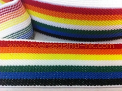 Twill with Multi-Colors Elastic