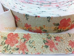 Print Elastic - Pure Color Lurex Base