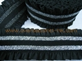 Lace with Lurex Elastic