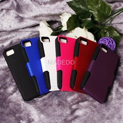 Non Slip Mesh Surface Plastic Hard Case Cover for bb Blackberry Z10 London