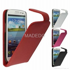 Real Leather Flip Design Case For Samsung Galaxy Grand duos i9080 i9082
