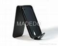 Elegant Black Leather PU Case Flip Cover