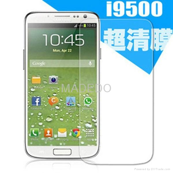 For Samsung Galaxy S4 S3 S2 i9080 Clear Screen Protector 1