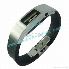 4s Bluetooth Bracelet Incoming Call Alert with Vibration and Anti-lost Alarm