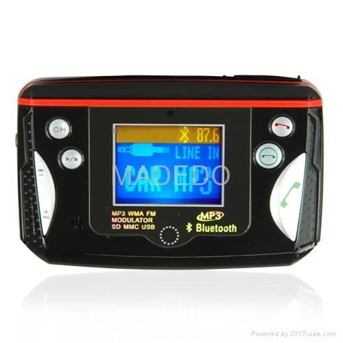 Bluetooth Car Kit for Bluetooth Calls and MP3 Music 3