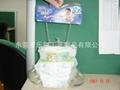 嬰儿紙尿褲充氣模型