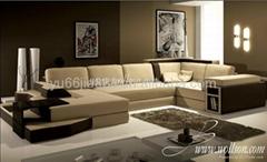 欧式现代组合沙发