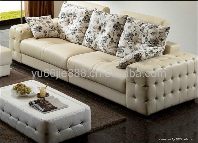 欧式两人位真皮沙发 2