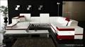 现代真皮客厅沙发 2