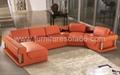 现代组合真皮沙发 4