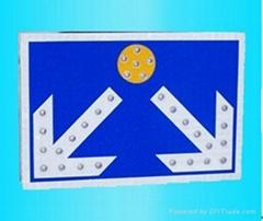 道路標識牌交通燈