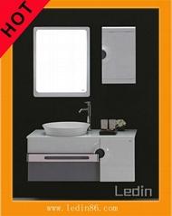 法式简约风格现代实木浴室柜