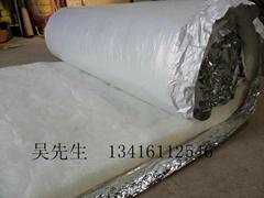 室内保温用环保白色玻璃棉毡