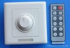Wireless remote dimmer