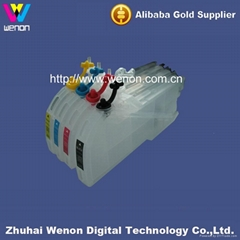 inkjet ink cartridge for brother DCP-J125 refillable ink cartridge