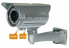 600TVL Varifocal Zoom Lens Bullet Infrared Cameras CCTV
