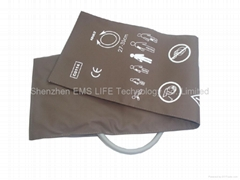 Reusable PU coat NIBP cuff with Bladder