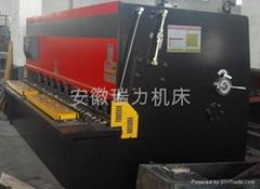 QC12Y-12×2500液壓數顯擺式剪板機