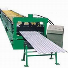 YX35-128-770 corrugated  roof sheet roll forming machine