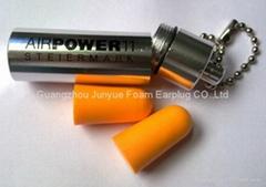 PU Foam Earplug With Tin Box