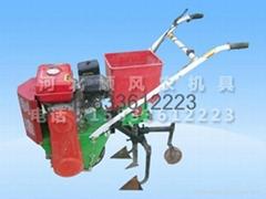 自走式汽油机施肥播种中耕机