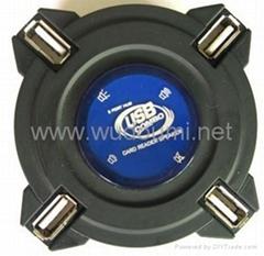 Combo Speaker:speaker+USB HUB+Card