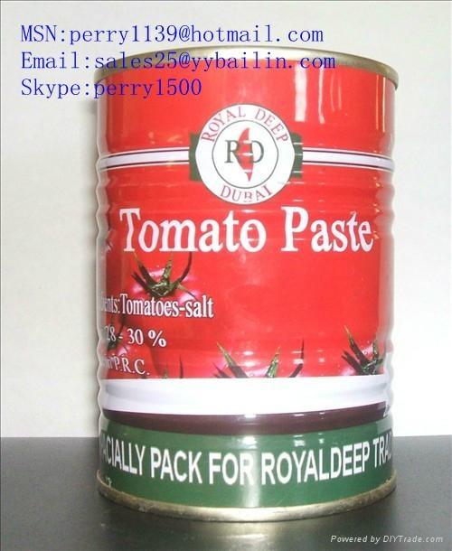 番茄酱罐头400克 1