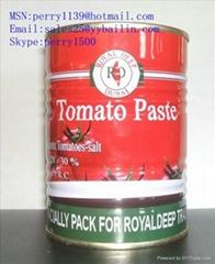 番茄酱罐头400克