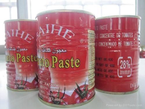 番茄酱罐头400克 5