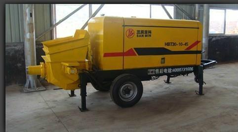 新缰HBT30-10-45小骨粒混凝土泵 1