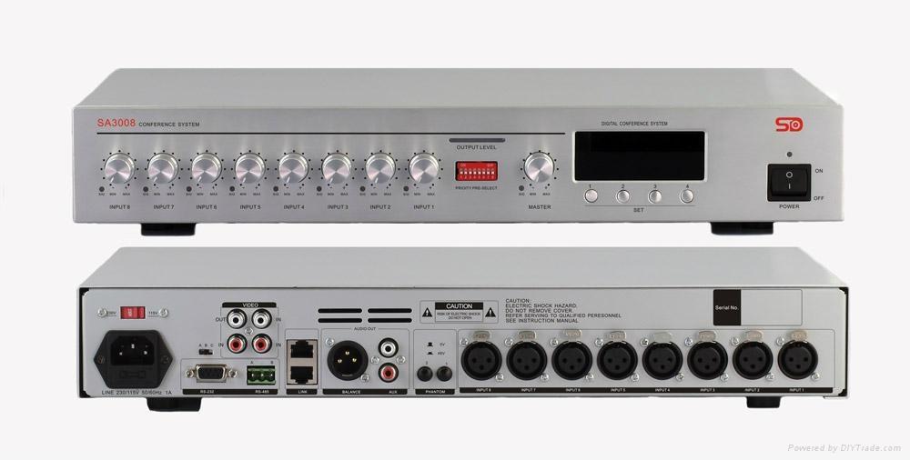 8 通道視像跟蹤混音器SA3008 1