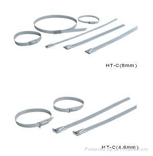 不鏽鋼鎖式扎帶 2